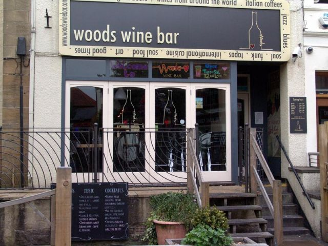Woods Wine Bar, Yeovil, Somerset