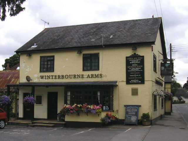 Winterbourne Arms, Winterbourne Dauntsey, Salisbury, Wiltshire