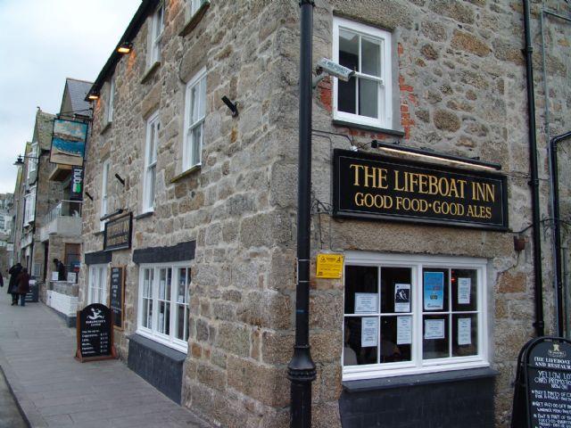 Lifeboat Inn St Ives Dog Friendly